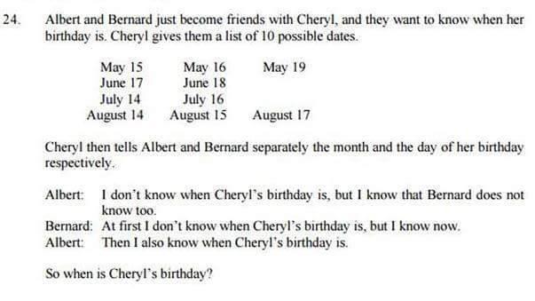 Birthday Problem